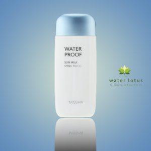 Missha All Around Safe Block Waterproof Sun Milk SPF50+/PA+++