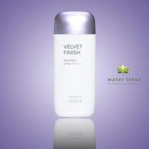 Missha Velvet Finish Sun Milk with SPF50+/ PA++++